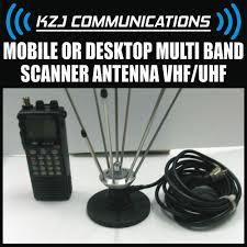 Radio Base Station Vhf Air Band Frequency Mobile Mobile Or Desktop Multi Band Scanner Antenna Vhf Uhf Ham Amateur