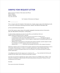 formal request letter sample of a letter of request for