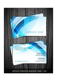 Abstract Business Cards Modern Abstract Style Business Cards Design Vector Card Free