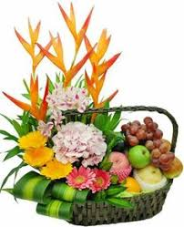 fruit basket arrangements jelly bellys and fruit basket designed by fruth pharmacy in