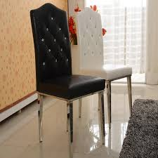 Dining Leather Chair New 100 Stainless Steel Leather Dining Chairs Fashion Living Room