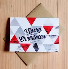 modern christmas cards set of six modern christmas cards by driscoll