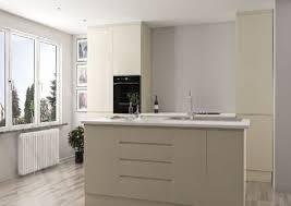 white gloss kitchen doors integrated handle gemini high gloss kitchen doors