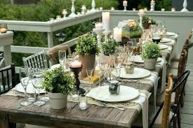rustic dinner table settings pinterest table settings table setting on enchanting dining room