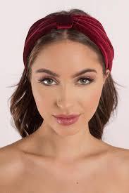 burgundy headband pippa burgundy velvet headband 24 tobi us