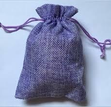 purple gift bags 7x9cm light purple jute bag 50pcs lot small fabric gift bags