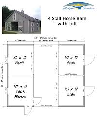 3 stall horse barn with tack feed room and loft this modular barn