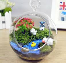 aquarium ornament fish tank decorations windmill moss micro