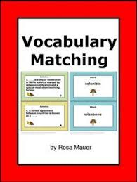 thanksgiving vocabulary worksheets and activities