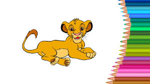disney pixar lion king coloring pages colours for kids kids