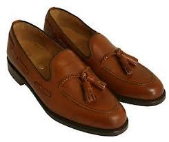 gentleman 39 s gentleman s tassel loafer shoe loake temple brown uk size 6 eu 39