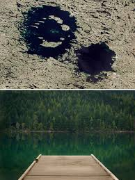Hit The Floor Quebec - asteroid day these lakes are actually impact craters time
