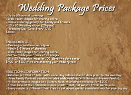 wedding photographers prices current wedding prices davis creative photography
