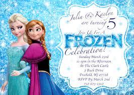 Birthday Card Invitations Templates Frozen Birthday Invitations Printable Theruntime Com