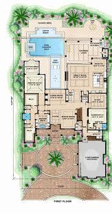 mediterranean home floor plans mediterranean floor plans inspirational 4 bedroom mediterranean
