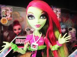 monster high venus mcflytrap music festival doll review youtube