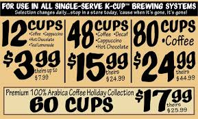 Bargain Barn Valparaiso K Cup Buyout Ollie U0027s Bargain Outlet