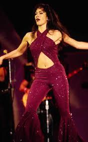 selena quintanilla purple jumpsuit costume selena quintanilla stage demi lovato debuts selena