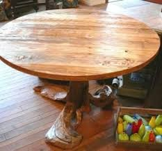 Rustic Round Coffee Table Hand Made Driftwood Reclaimed Wood Rustic Round Dining Table By