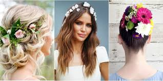 flower hair hairstyles with flowers in hair hair