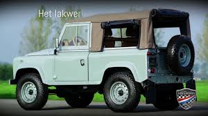 1990 land rover defender 90 land rover defender 90 heritage edition lex classics youtube