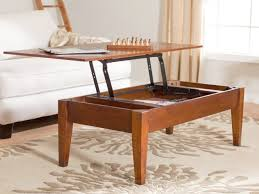 adjustable height end table coffee table adjustable height lift top home design