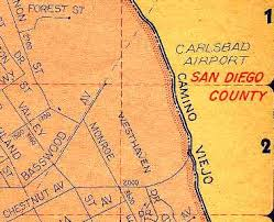 california map carlsbad abandoned known airfields california northern san