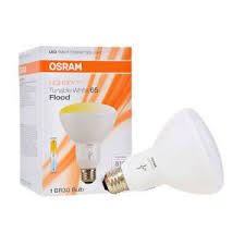 65w led flood light sylvania osram lightify smart home 65w br30 white led flood light