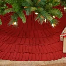 burlap christmas tree skirt ruffled burlap christmas tree skirt antique farmhouse