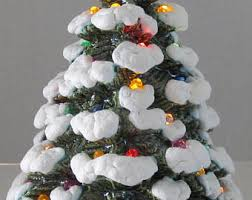 ceramic tree lights etsy
