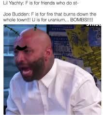 Joe Budden Memes - joe plankton angry joe budden know your meme