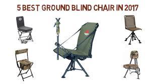 Best Hunting Ground Blinds 5 Best Ground Blind Chair In 2017 Best Ground Blind Chair