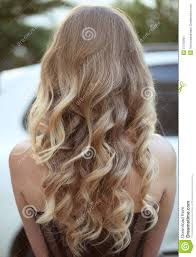hairstyles back view only healthy hair curly long hairstyle back view of blond hairs ha