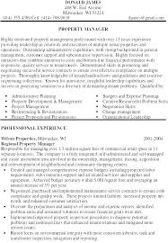 Resume Examples Job by Property Manager Resume Assistant Property Manager Resume Samples