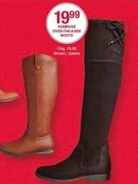 womens boots belk rage the knee boots 19 99 at belk on black friday