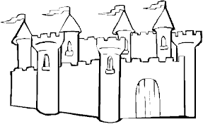 Sand Castle Coloring Page Coloring Book Coloring Pages Castles