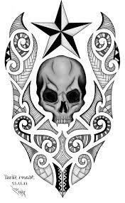 free designs of skulls cool tattoos bonbaden