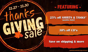 thanksgiving sale dead fish handshake