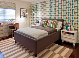 bedroom boy room ideas with baseball bat and bench seating with