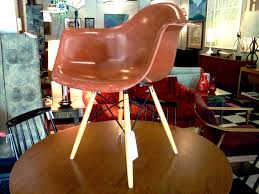modernica shell chair dar on eiffel base cool stuff houston