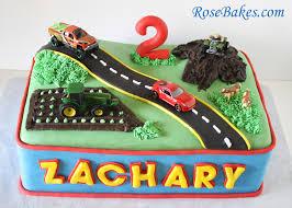transportation birthday cake car truck tractor u0026 4 wheeler