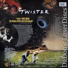 twister dorothy sensors twister laserdisc rare laserdiscs ac 3 dolby digital