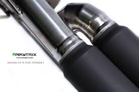 nissan gtr exhaust tips armytrix exhaust nissan gt r r35 valvetronic system obdii