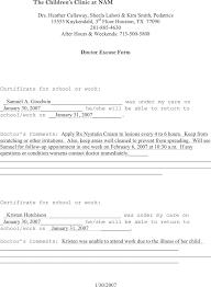 sample doctors note 8 examples in pdf worddoctors note
