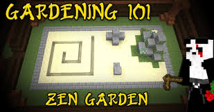 minecraft gardening 101 zen garden tutorial 4 youtube