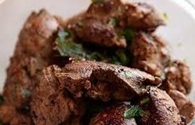 cuisiner foie de volaille foies de volaille rôtis à la moutarde et au thym frais recette