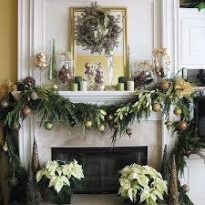 Home Decor For Christmas Mantle Decor For Christmas Mantle Decor Christmas Golden Mantel