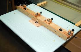 Building A Router Table by Airfield Models How To Make A Split Fence For A Dremel Router
