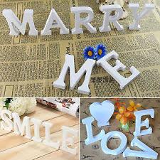 Home Letters Decoration Decorative Letters Ebay