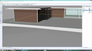 simple modern house rhino 3d time lapse youtube